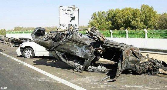 Авария в ОАЭ