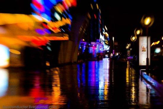 Дождь, ночь, Москва