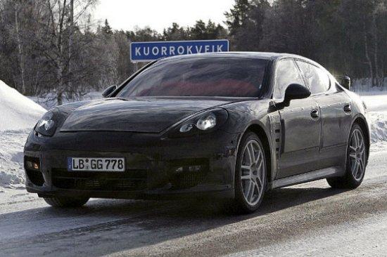 Porsche Panamera — шпионские фото