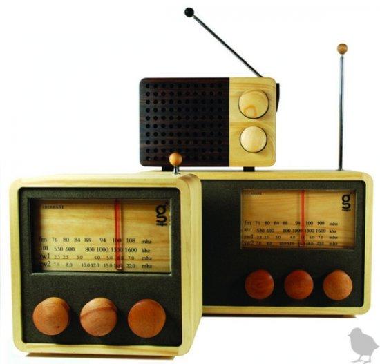 Ретро радио-mp3 плееры Magno Wooden Radios