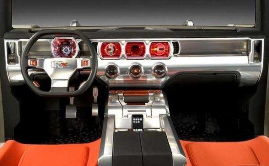 В Женеве показали Hummer HX Concept