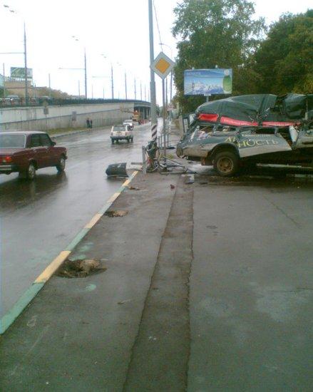 Страшная авария
