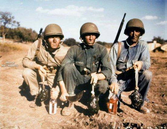 Вторая мировая война в цвете