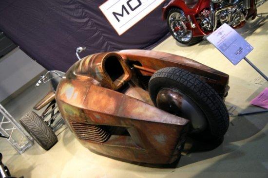 Трицикл Стилет на международном мотосалоне в Москве