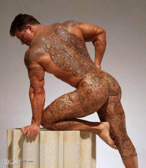 Татуировки из фотошопа