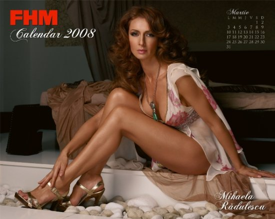 FHM Calendar 2008