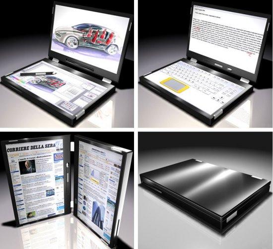 ComputerWorld показал ноутбуки будущего