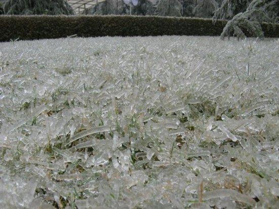 Ледяной дождь в Китае
