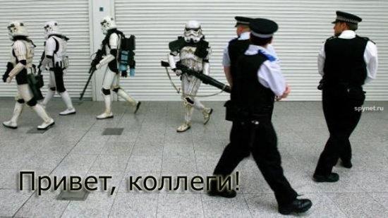Работа полицейских разных стран