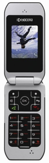 Стильные мобильные CDMA телефоны от Kyocera