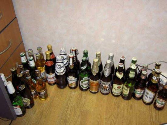 Дегустация импортных сортов пива