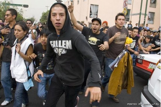 Протесты Эмо