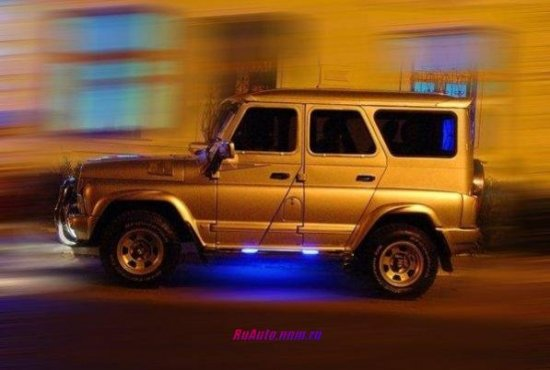 Интересный УАЗ 469