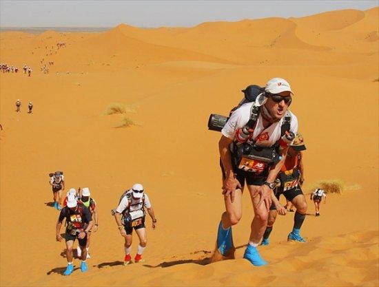 Марокканский марафон