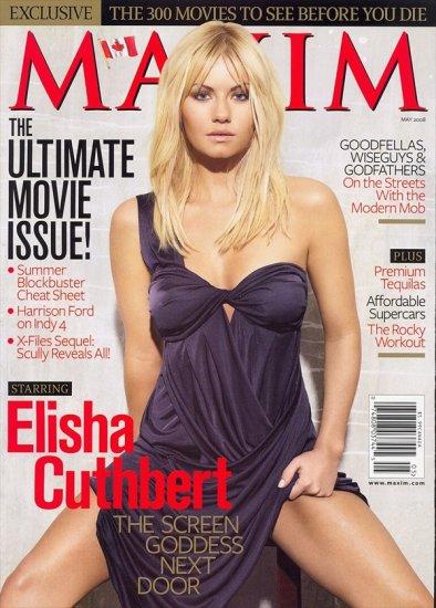Элиша Катберт — майская девушка журнала Maxim