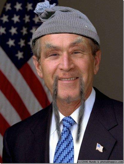 Фотожаба на Буша