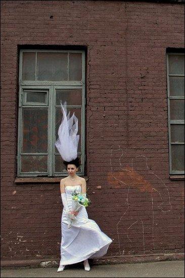 Обалденная свадебная фотосессия