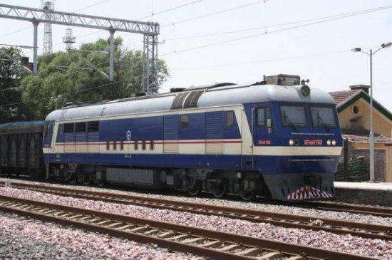 Про китайскую железную дорогу снаружи