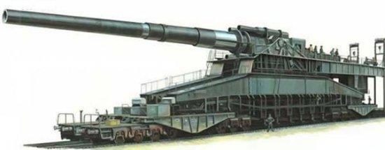 История самого крупного в истории нарезного орудия