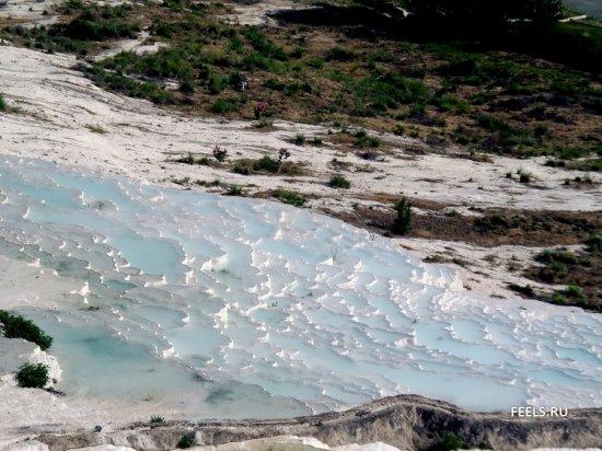 Памуккале: потрясающий природный бассейн