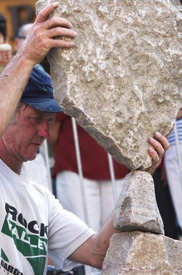 Искусство баллансировки камней
