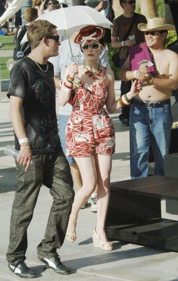 Дита Фон Тиз на фестивале Coachella