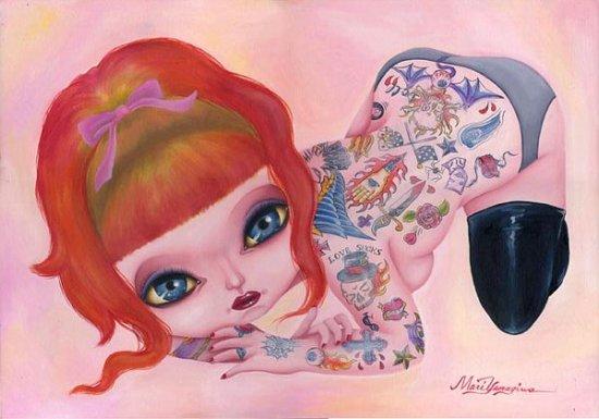 Иллюстратор Мари Ямагива (Mari Yamagiwa)