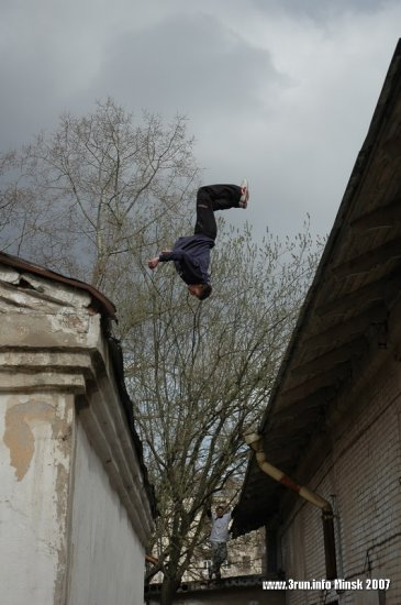 Parkour(паркур)-в Минске