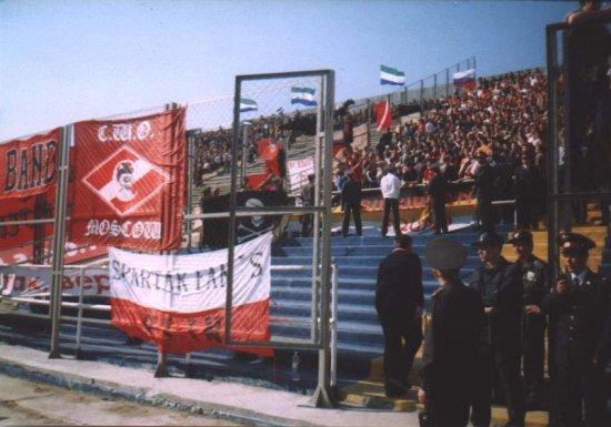 Фото с футбола(часть 3): Спартак, Венгрия, Россия(Строитель)