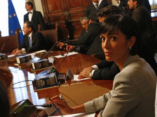 Мара Карфанья, «самый красивый министр в мире»