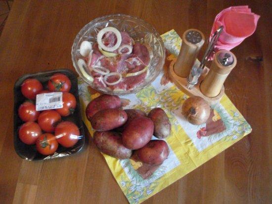 Шашлычок по домашнему с картошечкой