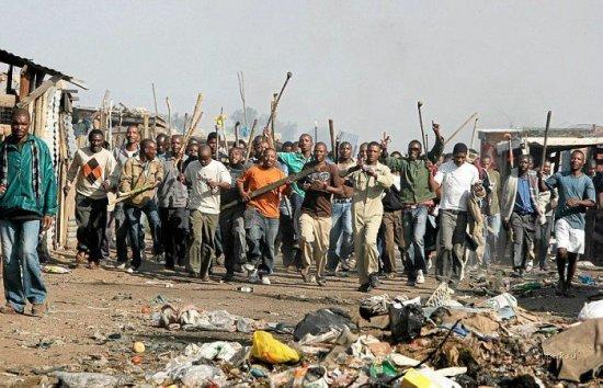 Беспорядки в Африке