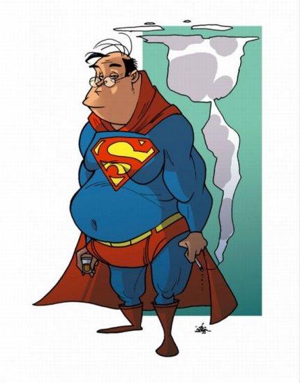 Супергерои на пенсии