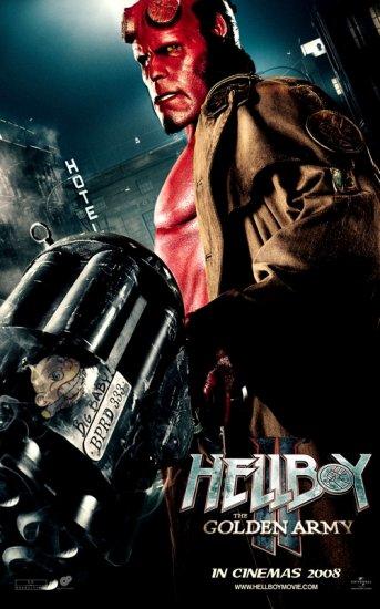 Постеры — «Хеллбой 2: Золотая армия»