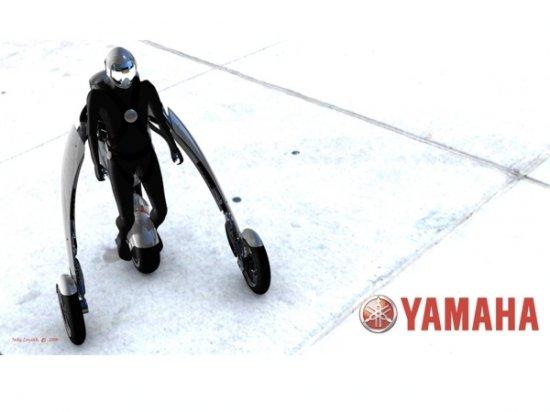 Необычный концепт мотоцикла Yamaha Deus Ex Machina