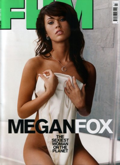 ����� ���� (Megan Fox) � ������� FHM UK July 2008