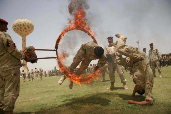 Парад в Ираке