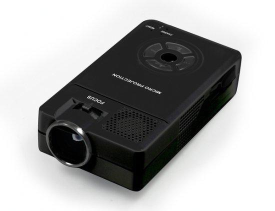Самый маленький проектор от Earth Trek