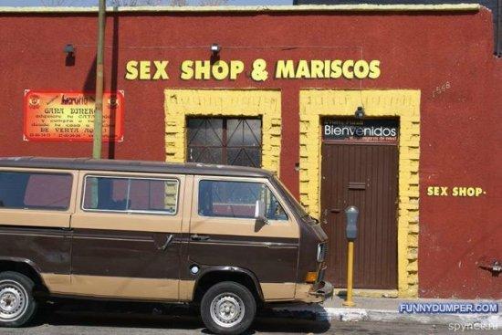 Секс-шопы разных стран