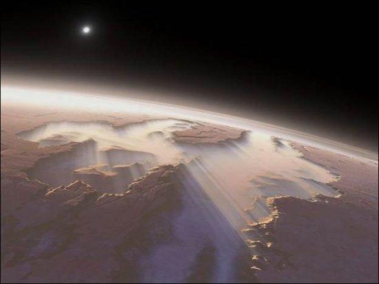 Красота необитаемой планеты