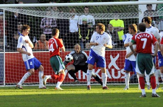 Сборная Беларуси сыграла вничью с Финляндией