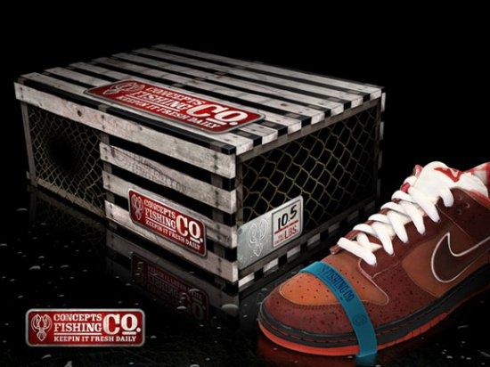Кроссовки-лобстеры Nike SB Lobster Dunk Low