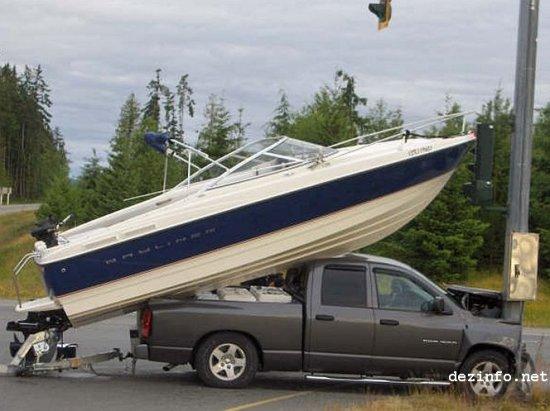 Неудачный день для рыбалки