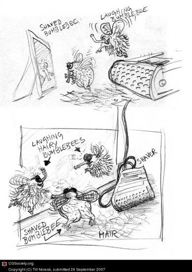 История создания одной картинки