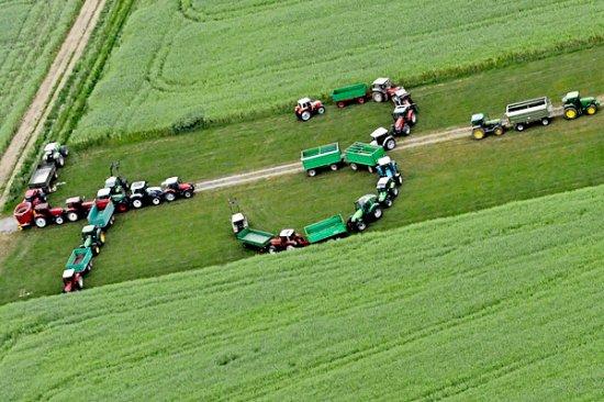 Молочный кризис в Европе: забастовка фермеров