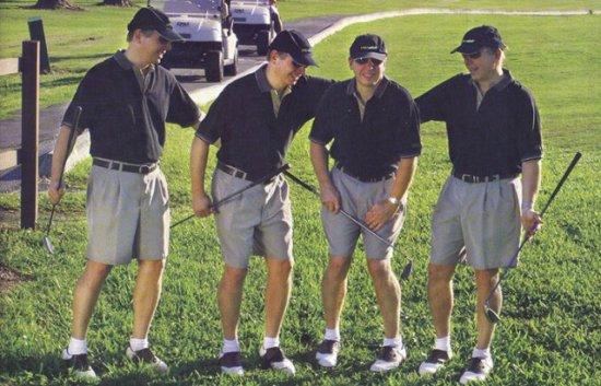 Как сходить в туалет на поле для гольфа.