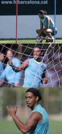 """Роналдиньо выбирает между """"Манчестер Сити"""", """"Челси"""" и """"Миланом"""""""