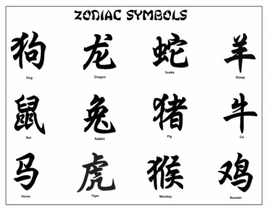 Татуировки ( китайский иероглифы)