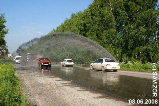 Новосибирск - город фонтанов