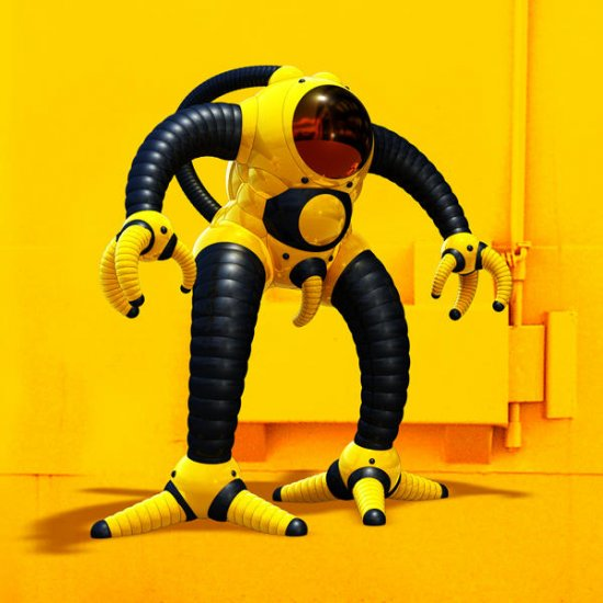 3D роботы: Zamak (Оливьер Бушерон)